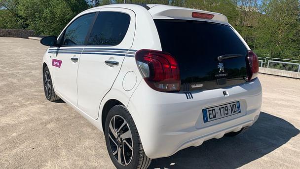 Peugeot 108 Gare de Nancy /Top - Toit ouvrant avec Régulateur de vitesse