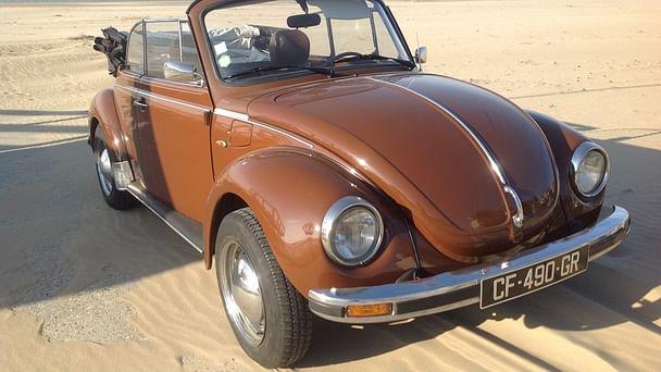 Volkswagen Coccinelle Cabriolet, 1979, Essence