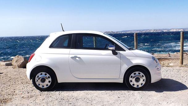 Fiat 500 Popstar lounge*clim*bluethooth*Parking Rond point du Prado avec Climatisation