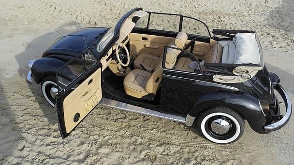 Volkswagen Coccinelle Cabriolet 1303 avec Entrée audio / iPod