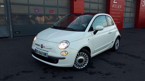 Fiat 500 1.2 16V 75CV LOUNGE, 2014, Essence