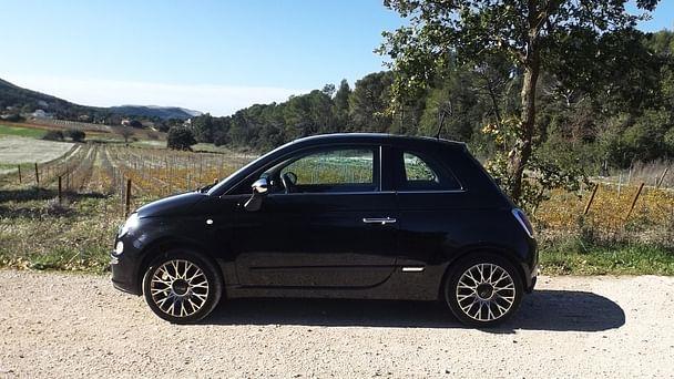 Fiat 500 Lounge*clim*bluethooth*Parking Rond point du Prado avec Entrée audio / iPod